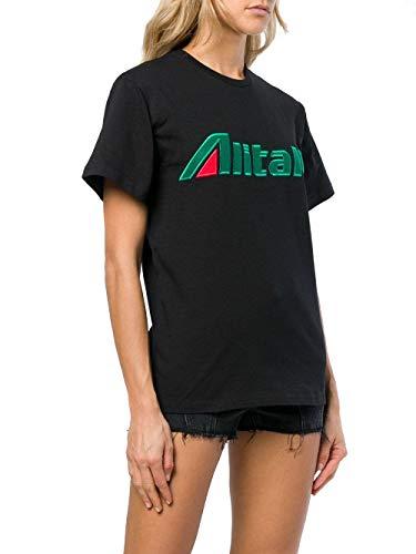 J070116720555 Alberta Noir T Femme Ferretti shirt Coton n7qqEw0rF