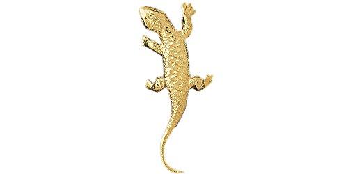 14k Yellow Gold Lizard Pendant 14k Yellow Gold Lizard Pendant