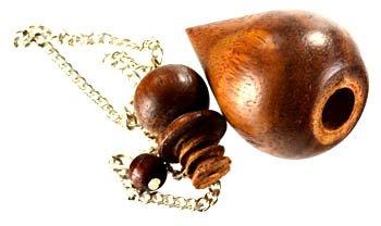 Wood Pendulum W/ Chamber *