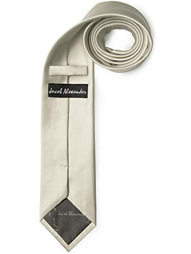 Jacob Alexander Solid Color Men's Regular Tie