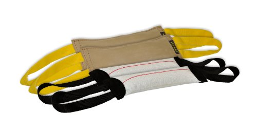 Hose Handle Fire Tug (Dean & Tyler Bundle of 4 Tugs for Pets, 2-Leather and 2-Fire Hose, 12-Inch by 4-Inch)