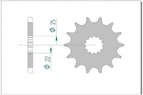 DID Kettensatz Kit CV1111 525VX Suzuki GSX-R 600 K8 Bj 2008 gold