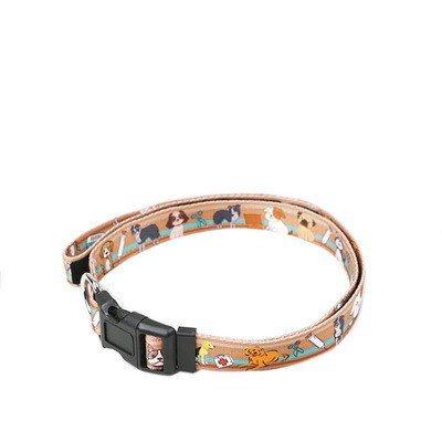 TLMY Pet Leash Rope Stretch Dog Rope Nylon Print Dog Leash Pet Chain