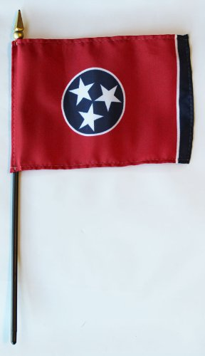 Miniature State Flags - Tennessee - 4