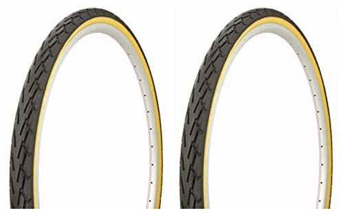 Lowrider Tire Set. 2 Tires. Two Tires Duro 700 x 40c Black/Gum Side Wall DB-7044. Bicycle Tires, Bike Tires, Track Bike Tires, Fixie Bike Tires, Fixed Gear Tires
