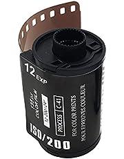 Film, 8 EXP ISO 200 Colorful Camera Film Retro Film Heart-Shaped 135 Negative Film for 35mm Waterproof Camera