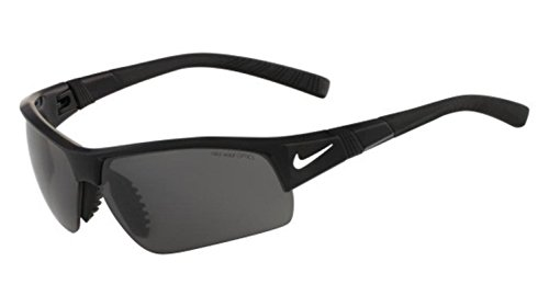 Nike Show X2 Pro Sunglasses, Black, Grey/Orange Blaze - X2 Nike Pro Sunglasses