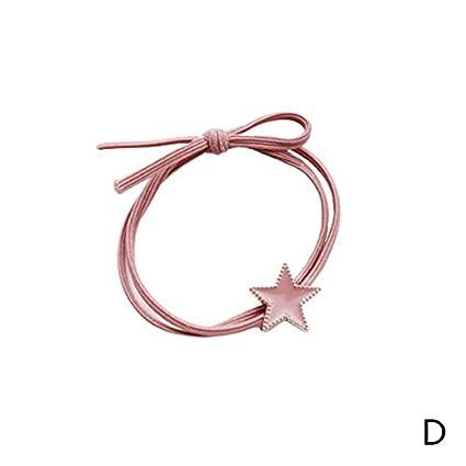 Sunsline - Corbatas para el pelo con forma de corazón para mujeres ...