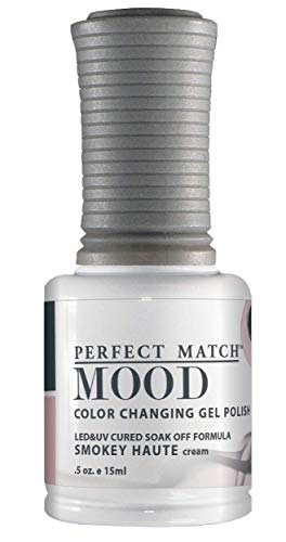 LECHAT Perfect Match Mood Gel Polish, Smokey Haute, 0.500 Ounce