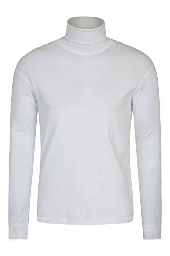 Mountain Warehouse Meribel Mens Cotton Roll Neck Top