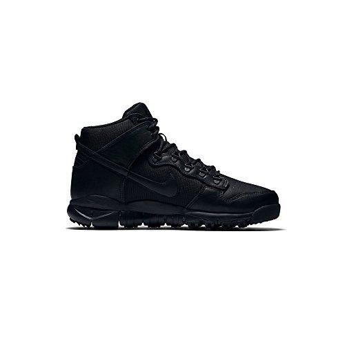 Nike SB Dunk High Boot Mens Hi Top Trainers 536182 Sneakers Shoes (UK 10.5 US 11.5 EU 45.5, Black Black 001)