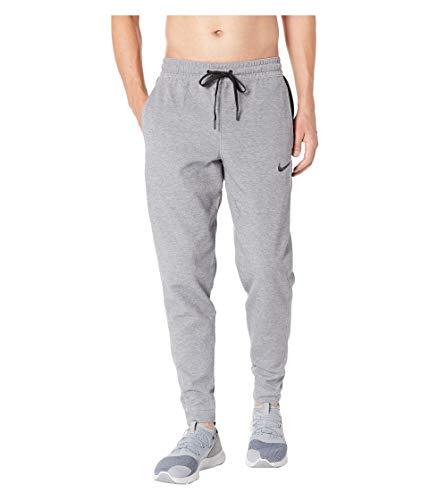 NIKE Men's Dry Showtime Pants (Birch Heather/Black, Large)