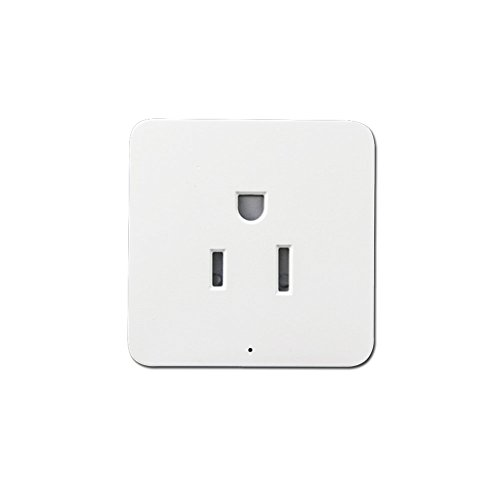 HTOMT Smart Plug, Wireless Wifi Plug, Remote Control Wifi Switch,Energy-saving Outlet Plug Work With Alexa Google Assistant