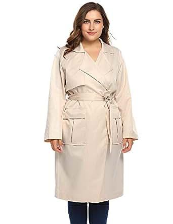 Amazon.com: Vpicuo Women Plus Size Autumn Winter Long