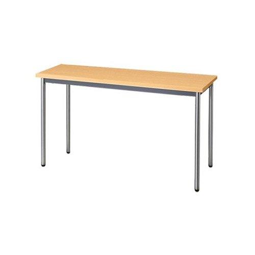 生興 テーブル MTS型会議用テーブル W1200×D450×H700 4本脚タイプ 棚なし MTS-1245OT ペールアルダー B015XOK6FQペールアルダー