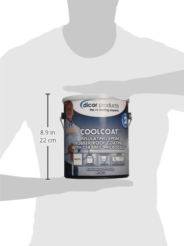 Dicor RP-IRC-1 CoolCoat Roof Coating - 1 Gallon