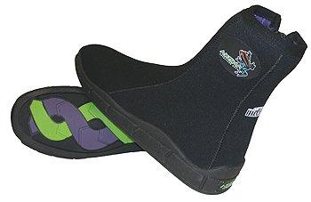 Buy cheap new akona 6mm titanium boot booties scuba dive diving jet ski kayak rafting snorkeling sports