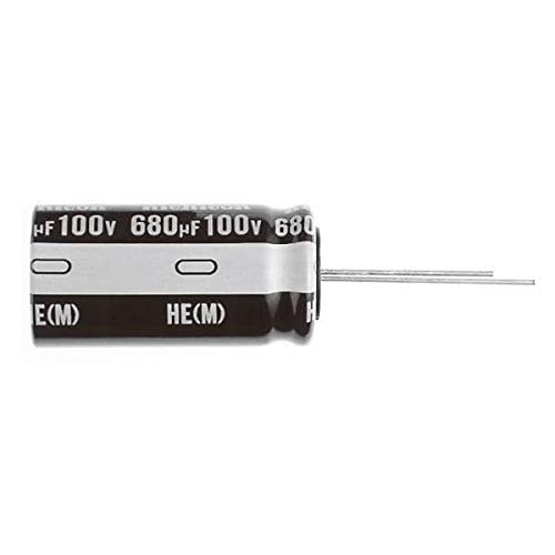 (Aluminum Electrolytic Capacitors - Radial Leaded 22uF 50V 20% Mini Size, Low Imped, Pack of 500)
