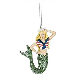 31EryodlT2L._SS300_ 100+ Mermaid Christmas Ornaments