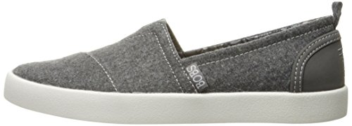 Skechers BOBS Women's Bobs-b Love Flat, Charcoal, 5.5 M US by Skechers (Image #5)'