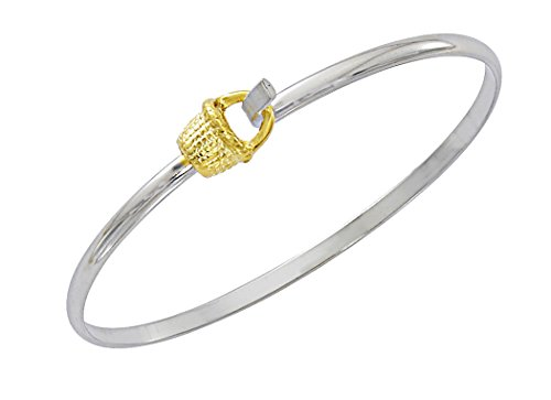 Nantucket Basket Bracelet Latch Cuff by Cape Cod Jewelry-CCJ (Arizona Christmas Gift Baskets)