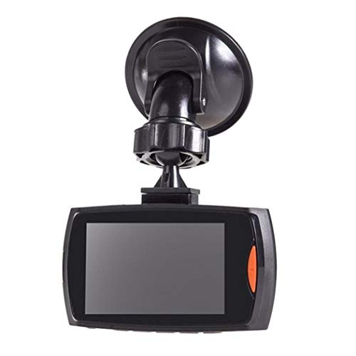 Yugiose Dash Cam 2.7LCD Durable Practical HD 1080P Display Wide Angle Lens Car Driving Recorder,120° Wide Angle, In-Visor Video