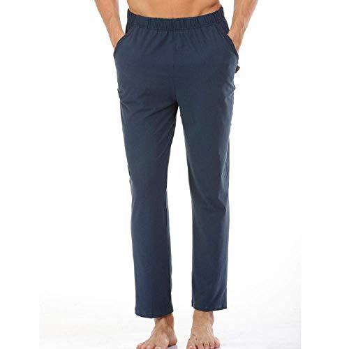 Pijamas Tamaño Polainas color Pantalones Color large Para Ropa Transpirables Color Simples Photo 100 De Algodón Dormir Xx Hombre T0qFc5Pw6B