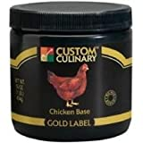 Custom Culinary Gold Label Chicken Base, 50 Pound -- 1 each.