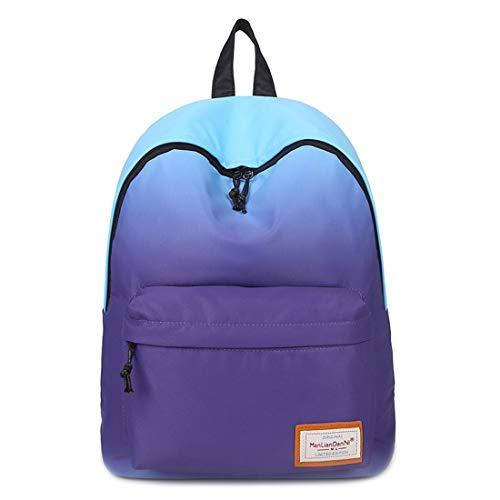 Pendolare Dello Universitario Green Purple Elevata Leggero color School Jsfnngdv Del Sacchetto Zaino Capacità Posteriore Di High Parte Della a4txz
