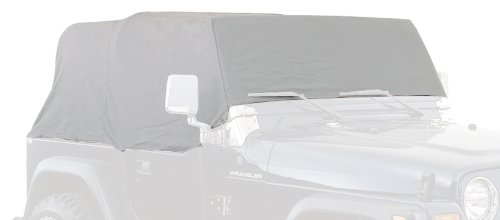 (Smittybilt 1161 Gray Water-Resistant Cab Cover)