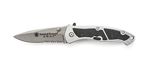 Smith & Wesson SWATMS Swat Medium Serrated Assisted Opening Knife (Knife Opening Swat Assisted)