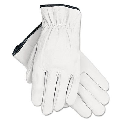 ORS-Nasco Industrial 3601L Memphis Glove Premium Grain Goatskin Unlined Leather Driving Gloves, Large (Pack of 12)