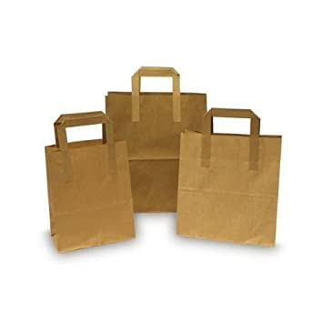 c781960f663 Kraft Paper Square Block Bottom Windows Bags for candies biscuits and food x