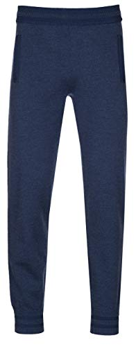 Marc by Marc Jacobs Men's Navy Blue Wool Blend Sweatpants, Blue, L