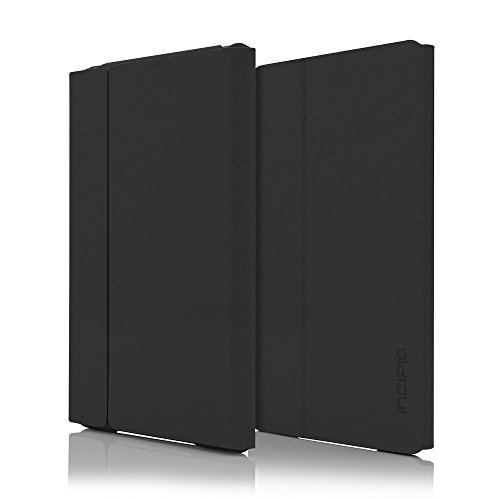 Incipio Leather - iPad Mini 4 Case, Incipio [Folio Case][Hard Shell] Faraday Case for iPad Mini 4-Black