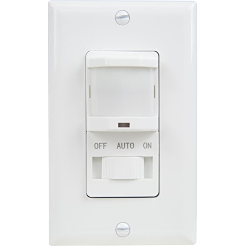 TOPGREENER-TSOS5-W-PIR-Motion-Sensor-Light-Switch-Fluorescent-Incandescent-500W-NEUTRAL-WIRE-REQUIRED