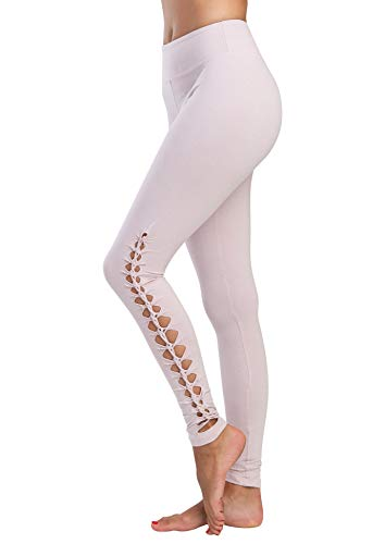 Jala Women's Lotus Legging, Blush, Medium
