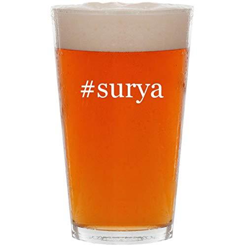 #surya - 16oz Hashtag All Purpose Pint Beer Glass