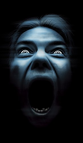 WOWindow Posters Silent Shrieker Halloween Window Decoration One 34.5
