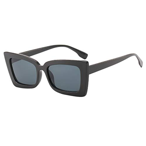 LODDD Adult Irregular Frame Sunglasses Retro Eyewear Fashion Radiation Protection Sunglasses