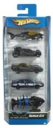 Hot Wheels 2006 Batman Begins Gotham City 5-Pack