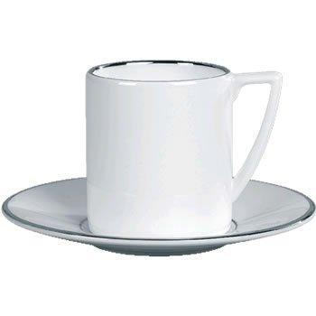 Wedgwood Jasper Conran Platinum Espresso Cup Saucer (Saucer Only) -