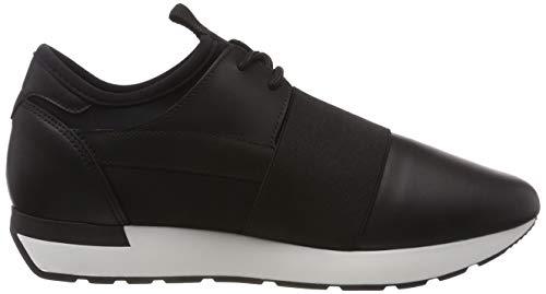 Pollini 00a Para Running Zapatillas Mujer Time black Schwarz qrqAawf