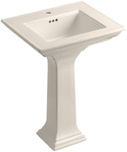 Kohler K-2344-1-55 Memoirs Pedestal Bathroom Sink with St...