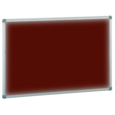 Tablero corcho tapizado burdeos 60x90 cm