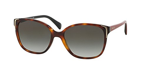 61a7c96a0965 Prada Sunglasses PR01OSA Asian Fit TKR0A7  Amazon.co.uk  Clothing