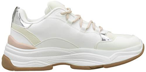 Blanco bright White Mujer Zapatillas Para Umoavia Aldo 70 wY7XII