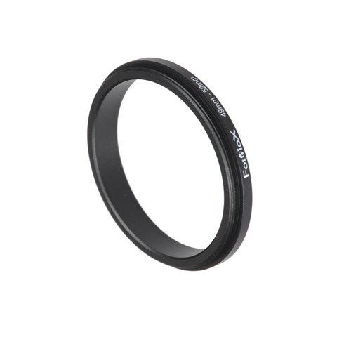 (Fotodiox 49mm - 52mm, 49-52mm Macro Close-up Reverse Ring, Anodized Black Metal Ring, for Nikon, Canon, Sony, Olympus, Pentax, Panasonic, Samsung Camera )