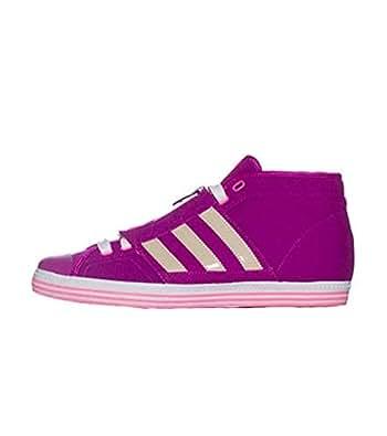 adidas Vanity Vulc MID 2 Sneaker Purple/White Purple Size: 7.5