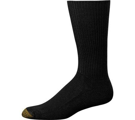 Gold Toe Men's Cushion Foot Fluffies,Black,US 10-13 R (Socks Stretch Toe Gold Toe)